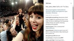 This Girl Took The Most Boss Selfie With Bruce Springsteen At His Sydney