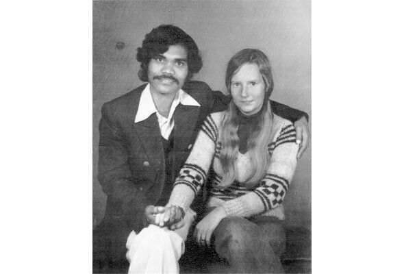 The first photo of PK and Lotta together in January 1976.