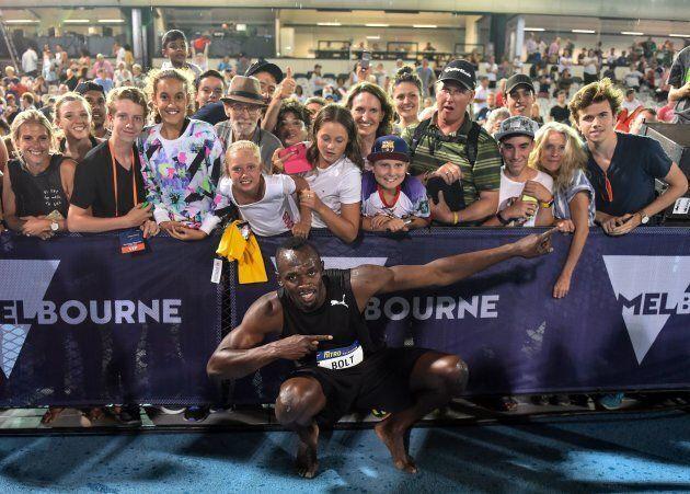 Bolt loves Melbourne, Melbourne, loves