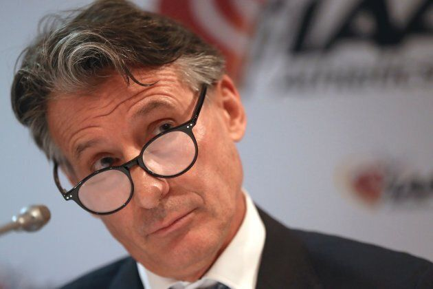 When Seb Coe does his quizzical look, you know you're on a