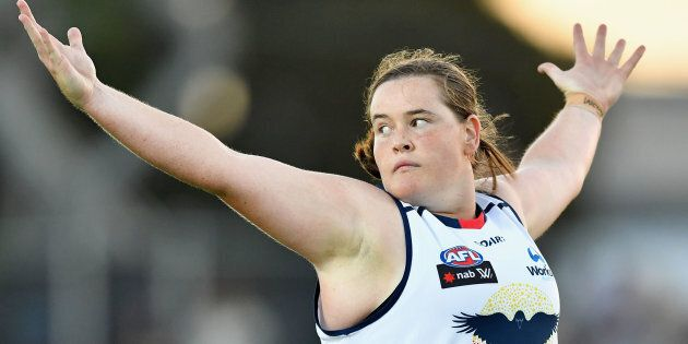 Adelaide Crows AFLW forward Sarah Perkins will be a player you'll need to know this season.