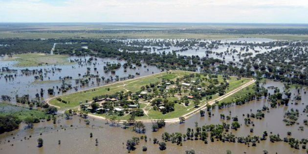Parts of Western Australia are underwater due to