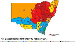 NSW Fire Conditions For Sunday Worst In State's