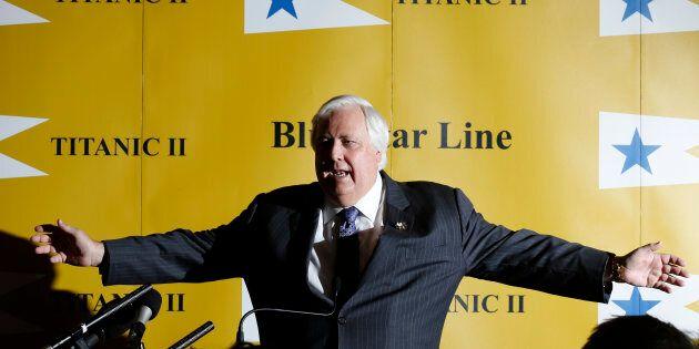 Australian billionaire Clive Palmer has sung his goodbyes to Cory Bernardi.