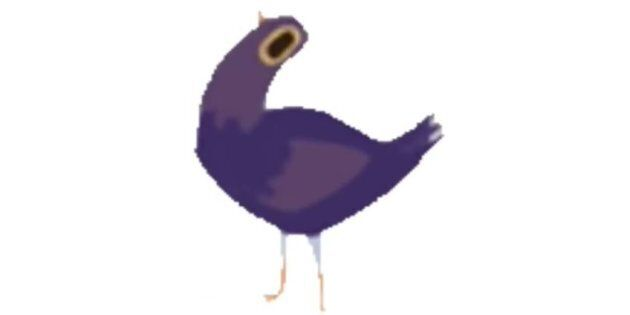 Trash Doves: The Purple Floppy Bird Flocking Your Facebook