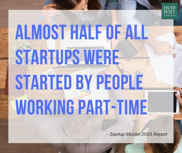 Almost Half Of All Startups Were Built By Founders Working