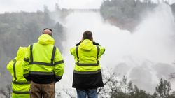Tens Of Thousands Evacuate As California Dam Spillway Threatens