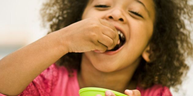 Don't use food to distract or reward your kids.