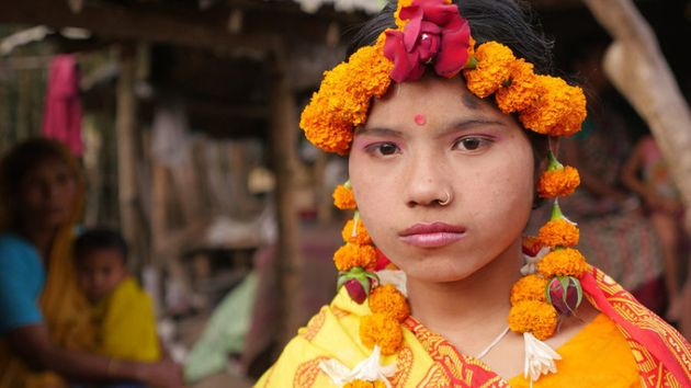 Paroti from Bangladesh was married at 15 to a boy she had met only once