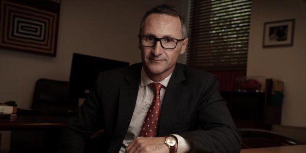 Greens Leader Senator Richard Di Natale is sick of 'pollies taking the