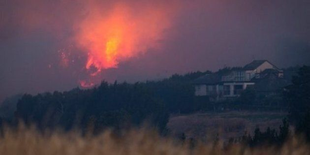 The fires have already claimed the life of one man. At least eleven homes have now been