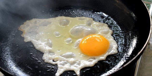 Why is cooking eggs so much harder when you have guests?