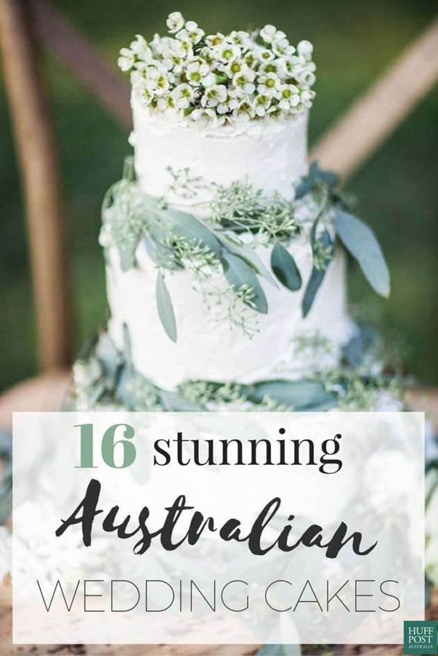 These Australian Wedding Cakes Are