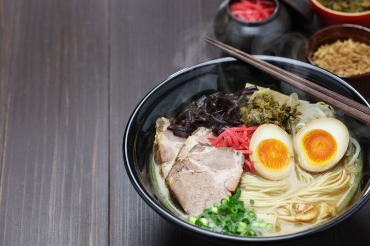 Don't you wish your Ramen looked hot like this?