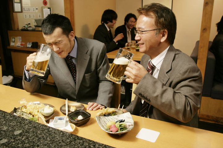 Bonus points if you drink it in a traditional Japanese izakaya.