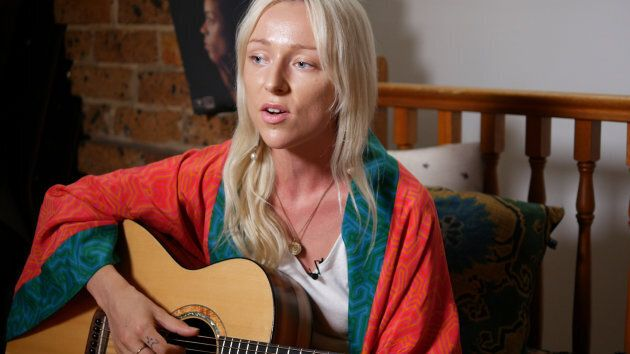 It's raw talent with Asta, as she belts out 'Doing What You Want' in her inner-west Sydney apartment...
