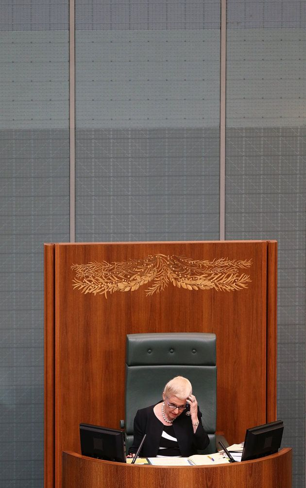 Bronwyn Bishop discovered the Speaker's chair was an ejection seat after