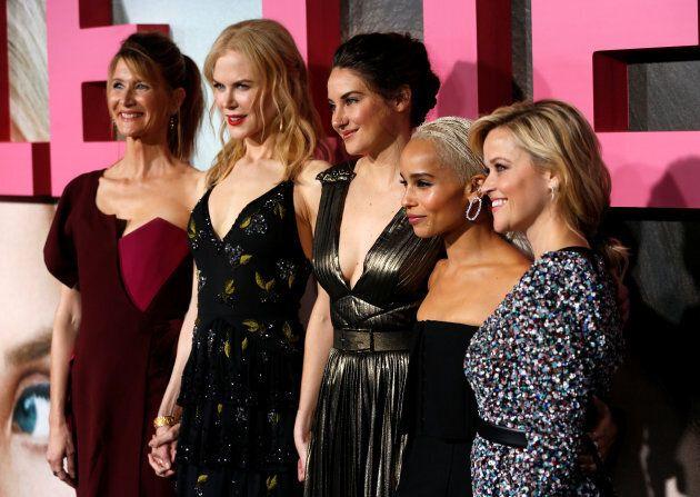 Kidman is starring alongside Zoe Kravitz, Laura Dern, Shailene Woodley and Reese Witherspoon in the new...