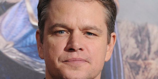 HOLLYWOOD, CA - FEBRUARY 15:  Actor Matt Damon arrives at the premiere of Universal Pictures' 'The Great Wall' at TCL Chinese Theatre IMAX on February 15, 2017 in Hollywood, California.  (Photo by Gregg DeGuire/WireImage)