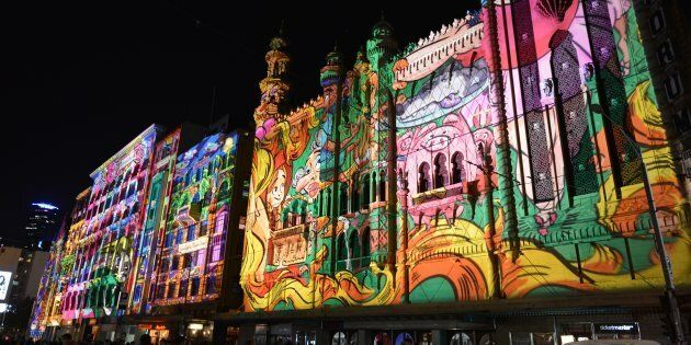 White Night 2017 attracted a crowd of almost 600,000 to