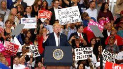 In Campaign-Style Rally, Trump Promises New Immigration Action, Obamacare