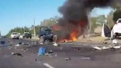 Woman Killed In Horror WA Smash Captured On