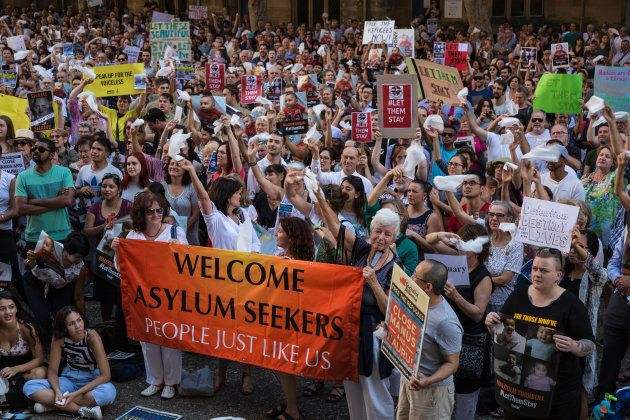 Protests against immigration detention on Manus Island and Nauru have taken place for years in