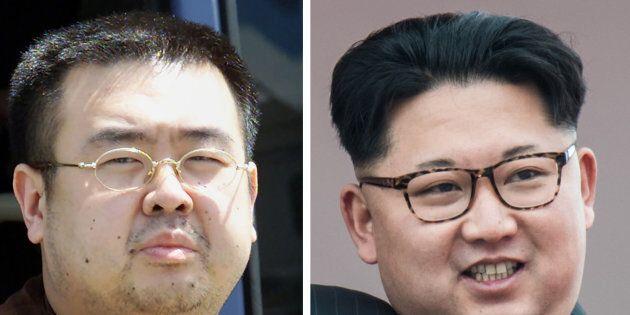 Kim Jong-Nam and his brother Kim