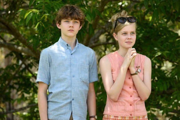 Levi Miller as Charlie Bucktin and Angourie Rice as Eliza