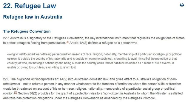 George Brandis Says Asylum Seekers Break The Law, But Can't Name Which