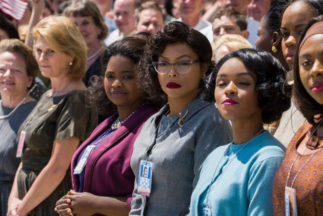 'Hidden Figures' is up for three Oscars at this month's Academy