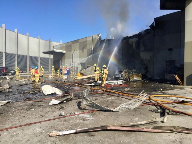 Five Dead After Plane Crashes Into Melbourne Shopping