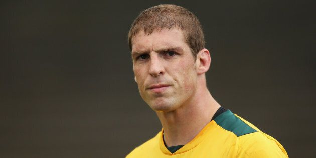 Former Wallabies star Dan Vickerman died aged 37 in his family home on Saturday night.