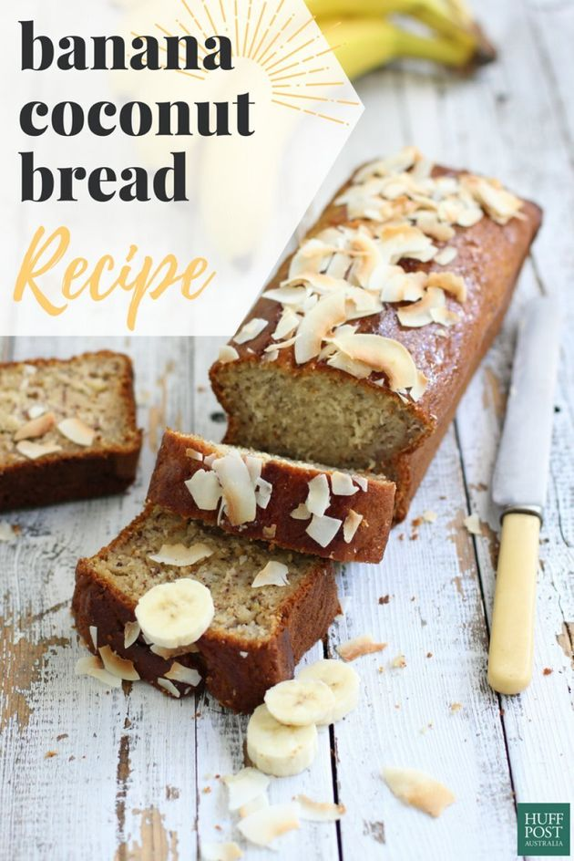 This Banana Bread Is Fluffy, Coconutty And So Easy To