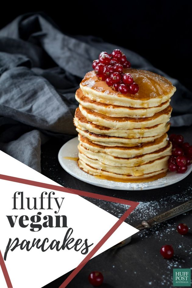 This Is How To Make Perfectly Fluffy Vegan