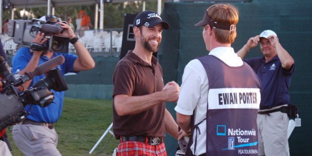 That winning feeling on the 72nd hole of the 2010 South Georgia
