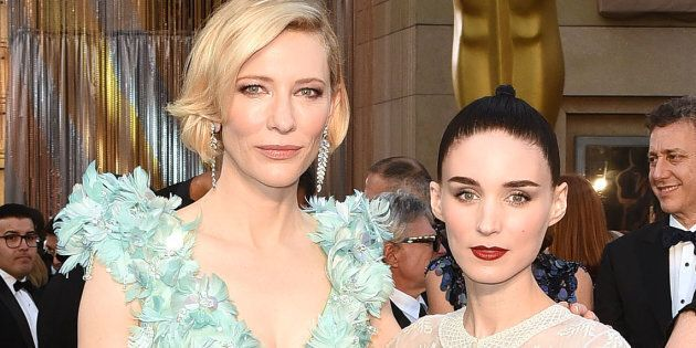 Cate Blanchett and Rooney Mara looked flawless on the red carpet in
