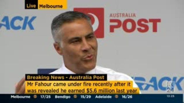 Australia Post CEO Resigns After Outrage Over His $5.6 Million