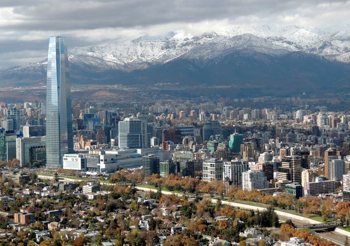 Didn't go there (except for the airport), but Santiago is said to be an amazing, modern city.