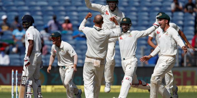 Australia's pretty stoked to be 1 up in the Test series against