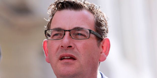 Daniel Andrews has vowed to fix the state's political expenses