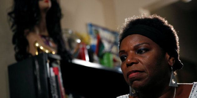 Tanya Walker, a 53-year-old transgender woman, activist and advocate, gives an interview at her apartment in New York City, U.S. September 7, 2016. Picture taken September 7, 2016. REUTERS/Brendan McDermid       TPX IMAGES OF THE DAY
