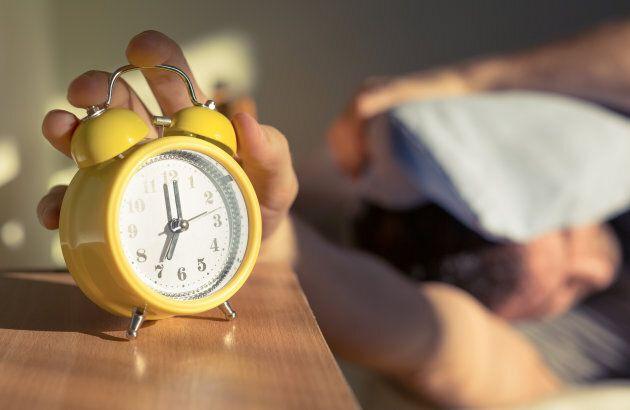 Make sure your alarm is set.