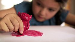 These Monster-Shaped Crayons Are Healing Aussie Kids Of Trauma And