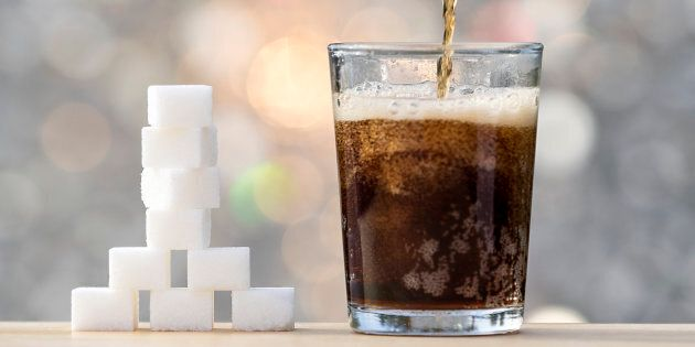 One in six teenage boys consumes at least a litre of soft drink every