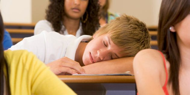 Previous studiessuggest not getting enough sleep may impair a part of the brain that controls attention and helps regulate emotion -- and this is one possible explanation forwhy sleepy teens were more likely to be involved in criminal activity later on, the researchers said.