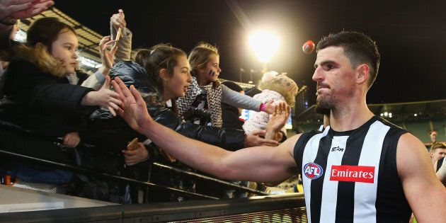 Scott Pendlebury is not the most important person in this picture.