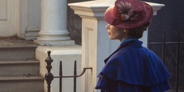Behold, The Magical First Photo Of Emily Blunt As Mary