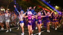 Sydney Sparkles For Gay And Lesbian Mardi