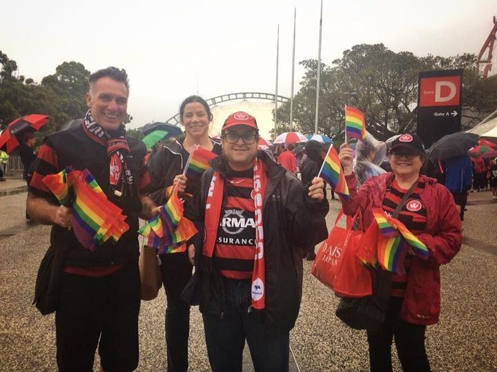 These people bleed red and black... and rainbow.